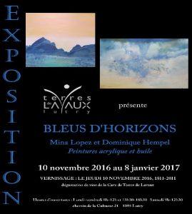 "Exposition ""Bleus d'Horizons"""